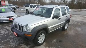 JEEP LIBERTY 4X4 SUV *** CERTIFIED *** $4995