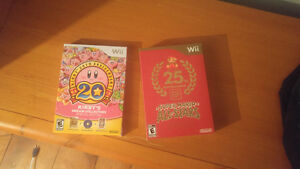 Super mario all star et kirby's Colector