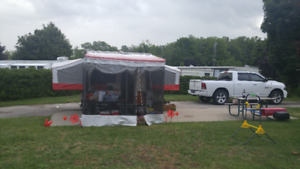 POP UP TENT TRAILER FOR RENT