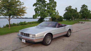 1987 Cadillac Allante Convertible California Car