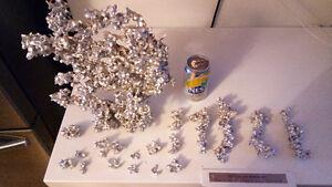 Aluminium coral reef art