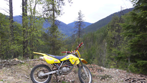 Suzuki drz 125 dirt bike