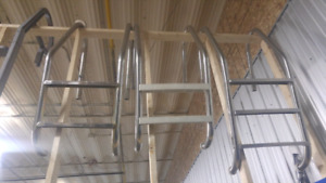 Used pool ladders great for docks