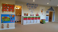 Space available in licensed family daycare