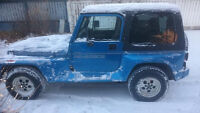 RARE 1992 Jeep Renegade FOR SALE FOR PARTS/SALVAGE ONLY