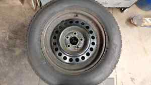 Kankook winter on rims 205/65r15 Kitchener / Waterloo Kitchener Area image 3