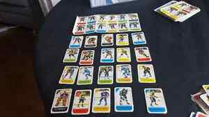 Vintage early 80's Post cereal trading cards.