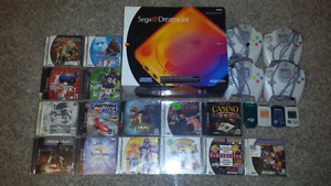 Selling a Large Sega Dreamcast Bundle!