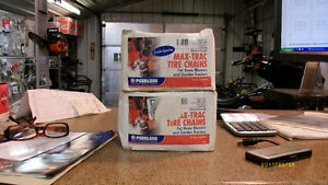 Tire chains  18X8.50X8 for sale Peterborough Peterborough Area image 1