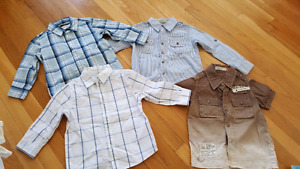 4 Shirts for boys size 3y