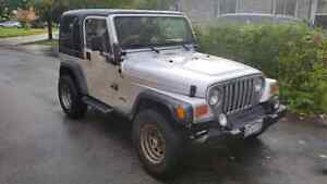 Hot deal! 2002 jeep wrangler as is. Brand new clutch! Stratford Kitchener Area image 4