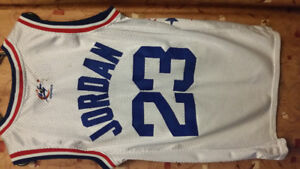 JORDAN ALL STAR TEAM WIZARDS MITCHELL AND NESS  AUTHENTIC JERSEY