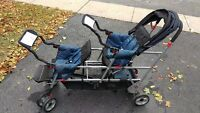 Joovy Caboose Stand On Triple Stroller