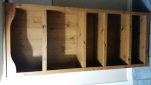 Wall unit 5 shelves for sale. Nice peice of furnature
