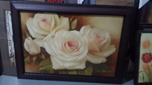 Large beautiful flower painting for sale.
