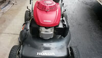 HONDA push lawnmower