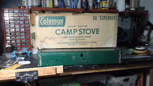 Camping cook stove