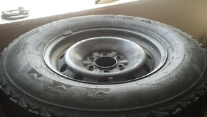 Bridgestone Winter force tire and rims