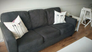 Grey 3 seater couch for sale