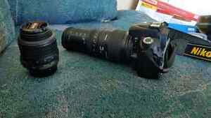 Nikon D90 with two Lens