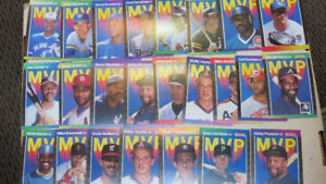 1989 Donruss MLB MVP cards(21)
