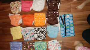 16 Cloth Diapers