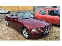 Bmw e36 318i convertible - low mileage