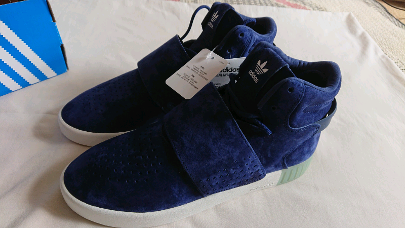 buy online b41ce 83d8a Adidas Tubular Invader Strap- Blue/White Size 8.5 UK | in Kentish Town,  London | Gumtree
