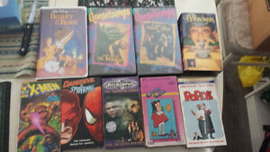 Kids Collection VHS Xmen Animorphs L. Lulu Popeye Goosebumps