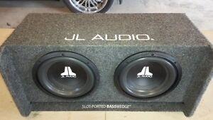 JL Audio dual 10 inch sub box!