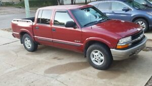 2003 Chevrolet S10 Crew Cab 4.3 loaded
