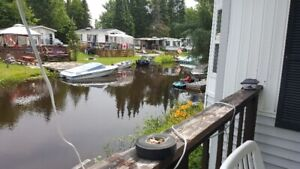 Beautiful Waterfront RV  Cottage for Sale in Huntsville