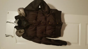 Coffee Brown Winter Jacket
