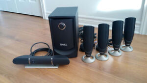 Sound System Dell 5.1 Surround Computer Speaker MMS 5650