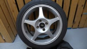 Ford Focus Wheels and Tires Set of Four