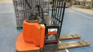 electric ride lift truck