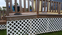 Deck to be leveled