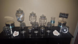 CANDY BAR APOTHECARY JARS & ACCESSORIES