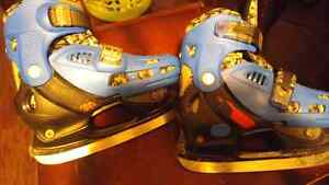 Boys. Hot ice skates adujustable from size 12-2 London Ontario image 1