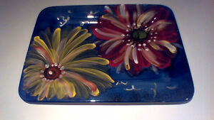 Hand Painted Serving Platter Strathcona County Edmonton Area image 1