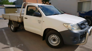 2008 Toyota Hilux Workmate my08 Manual Ute Seaton Charles Sturt Area Preview