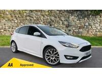 2018 Ford Focus 1.0 EcoBoost 140 ST-Line Navig Manual Petrol Hatchback
