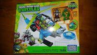 Mega Bloks TMNT Teenage Half Shell Heroes Turtle Chopper 78 PCS