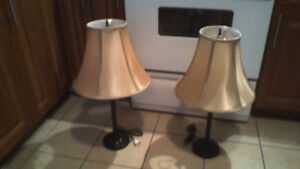 Pair of Lamps $25 (WOW)