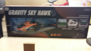 Gravity Sky Hawk RC Helicopter with camera
