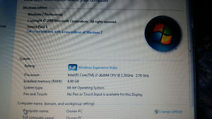 2 laptops to sell 18+ screen acer and 12.5 elitebook