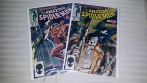 AMAZING SPIDER MAN #293 294 W/ KRAVEN  POSSIBLE MOVIE