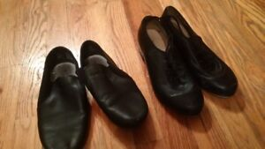 Jazz and Tap Shoes size 3