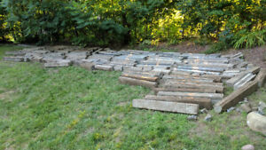 FREE Cement Curbs / Retaining Wall Blocks - Possible Filler
