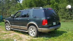 Safetied 2004 Ford explorer Eddie Bauer